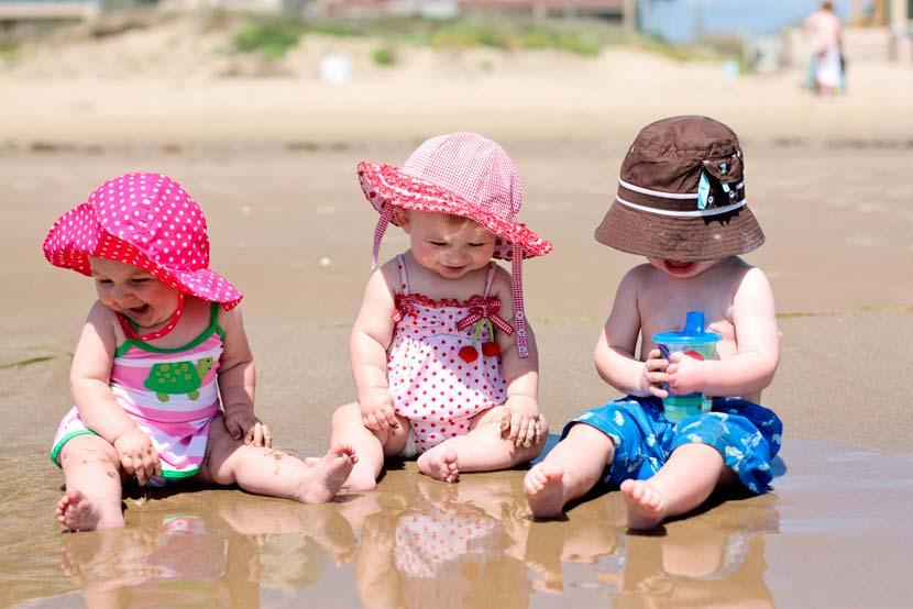 дети на пляже правила безопасности