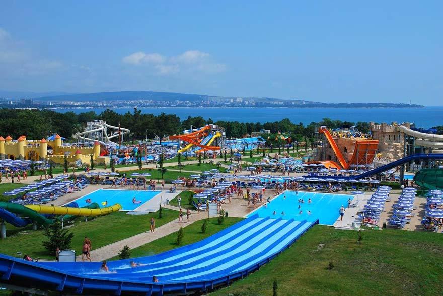 аквапарки россии