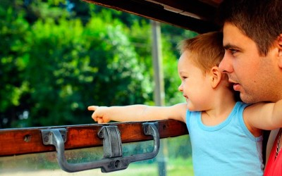 с ребенком на поезде