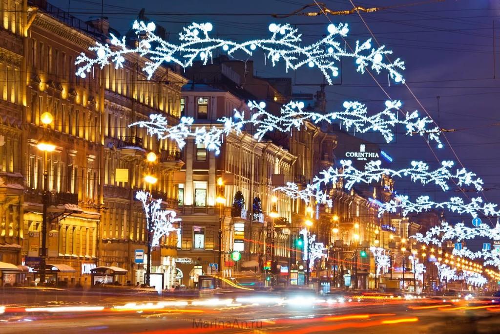 санкт петербург на новый год