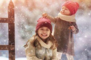 где отдохнуть зимой с детьми